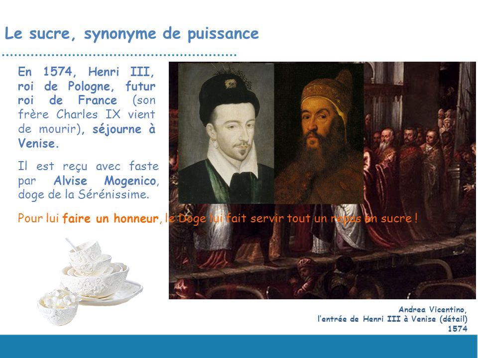 En 1574, Henri III, roi de Pologne, futur roi de France (son frère Charles IX vient de mourir), séjourne à Venise. Andrea Vicentino, lentrée de Henri