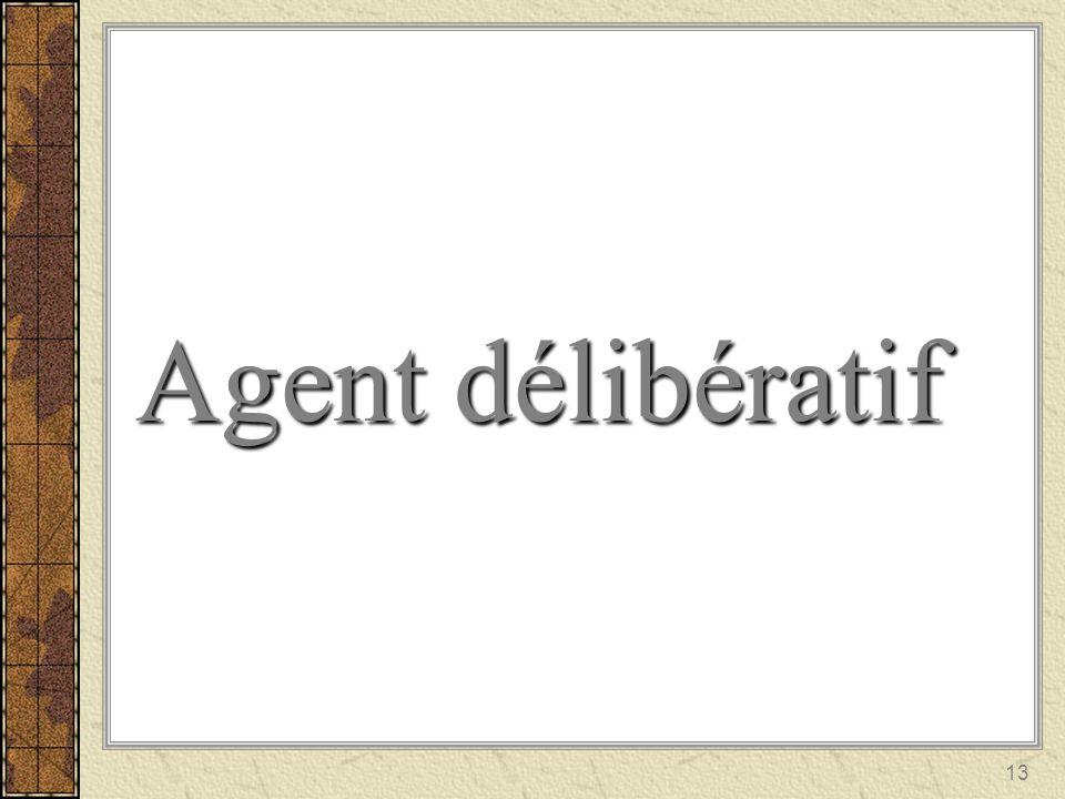 13 Agent délibératif