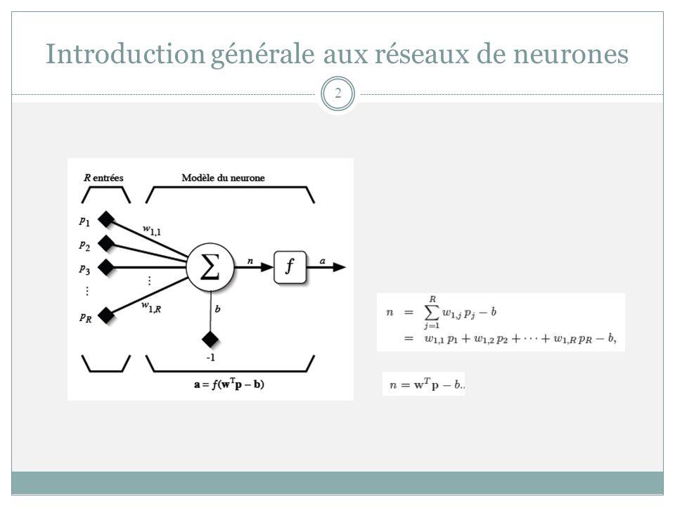 Introduction générale aux réseaux de neurones 2