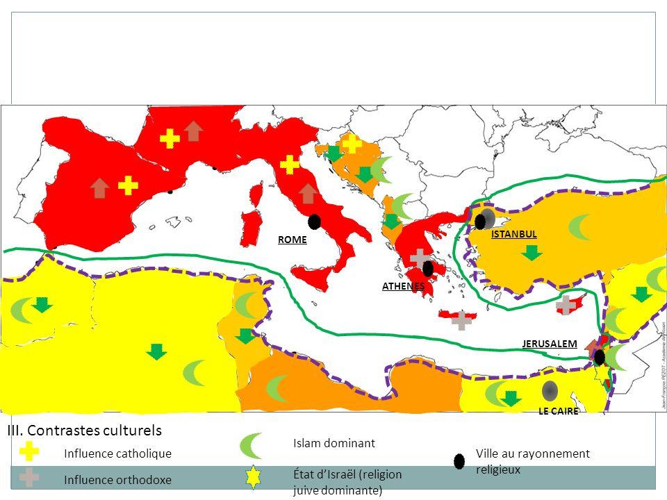 ISTANBUL LE CAIRE ROME JERUSALEM ATHENES IV.Rapports dissymétriques de dépendance Nord-Sud U.