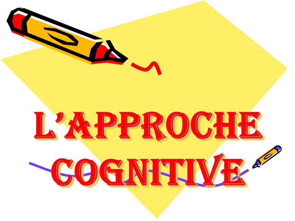 LApproche cognitive