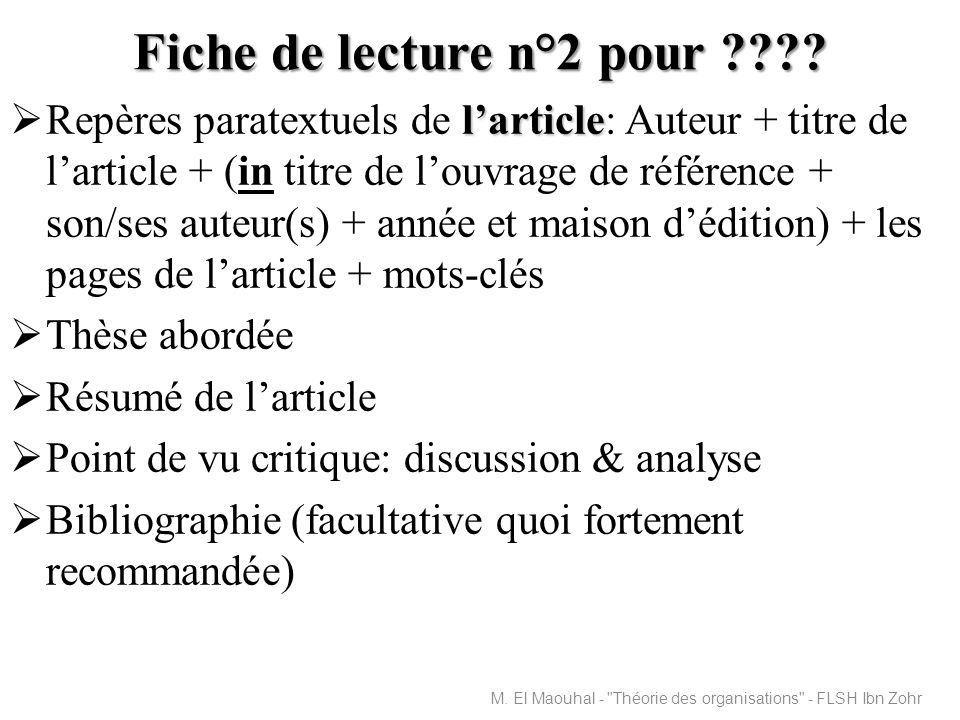 Bibliographie sélective Philippe Bernoux, La sociologie des organisations : Initiation, Paris, Seuil, 1995.