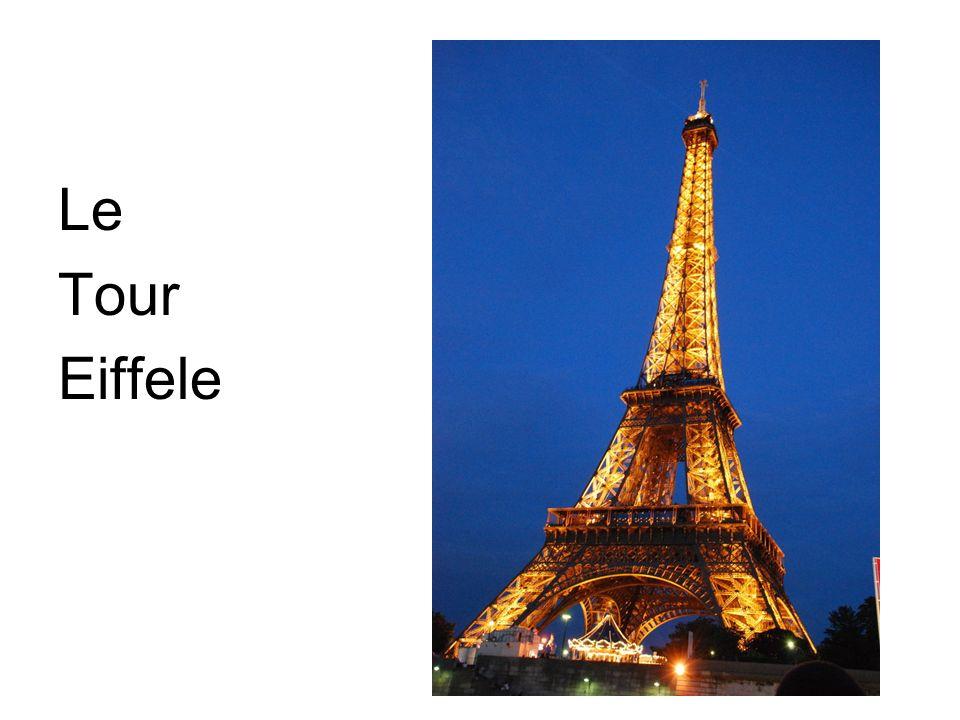Le Tour Eiffele