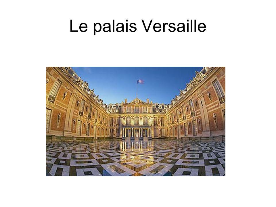 Le palais Versaille
