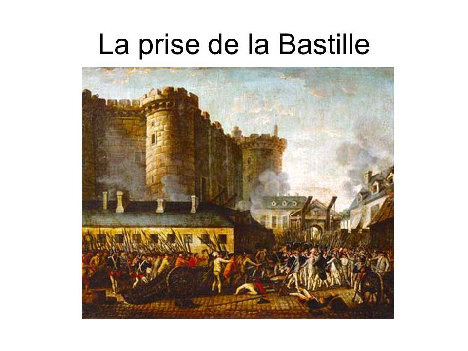Conséquence a laction des parisiens, le 14 Juillet qui signifiait la chute de la Bastille est devenue premièrement la Fête de la Fédération, étant célébrée pour la première fois le 14 Juillet 1790 (mille sept cents quatre-vingt dix), pour une courte période du temps, quand la France fut une monarchie constitutionnelle.