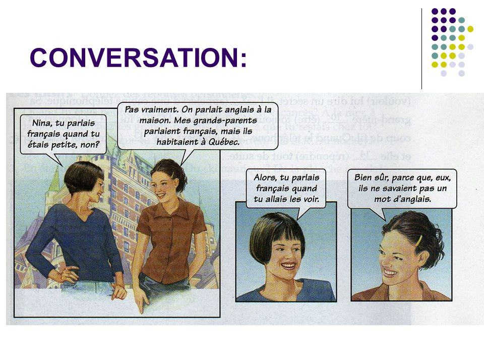 CONVERSATION: