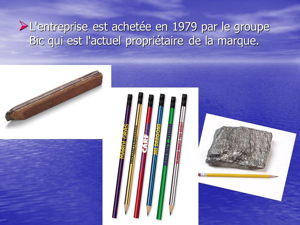 L'entreprise est achetée en 1979 par le groupe Bic qui est l'actuel propriétaire de la marque. L'entreprise est achetée en 1979 par le groupe Bic qui