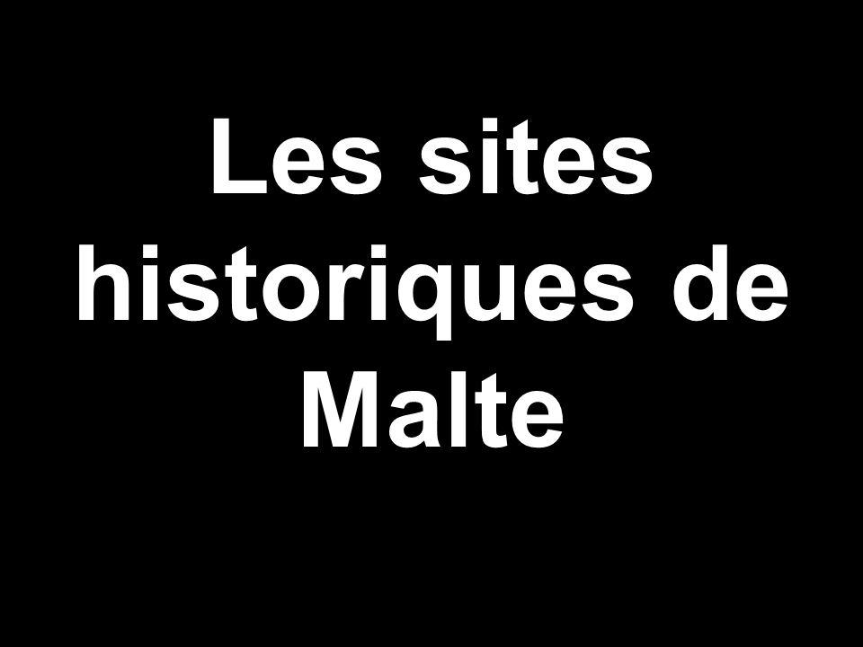 Les sites historiques de Malte