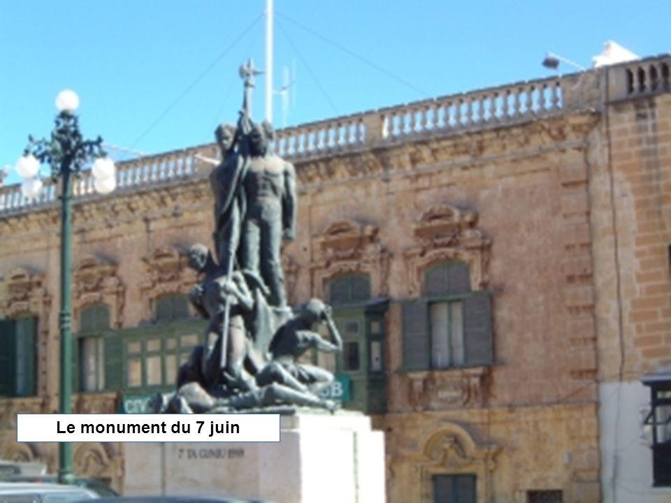 Le monument du 7 juin