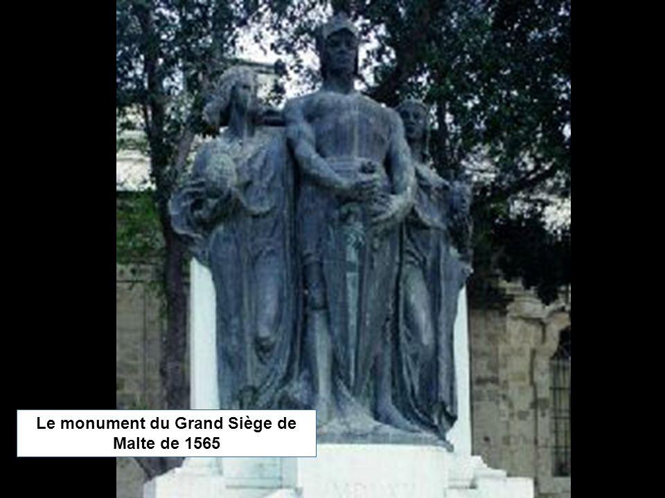 Le monument du Grand Siège de Malte de 1565