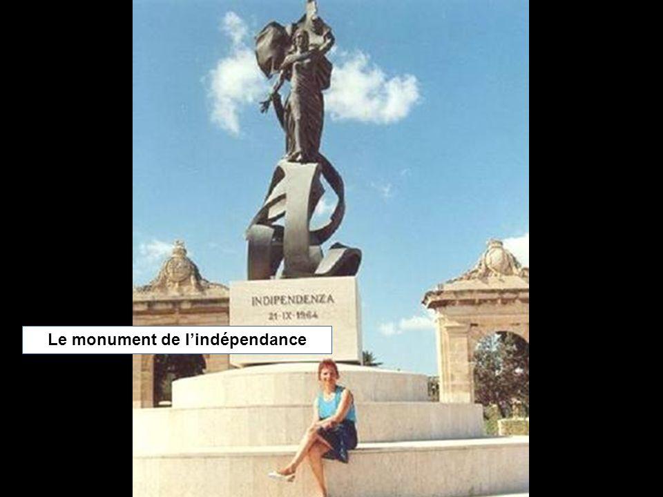 Le monument de lindépendance