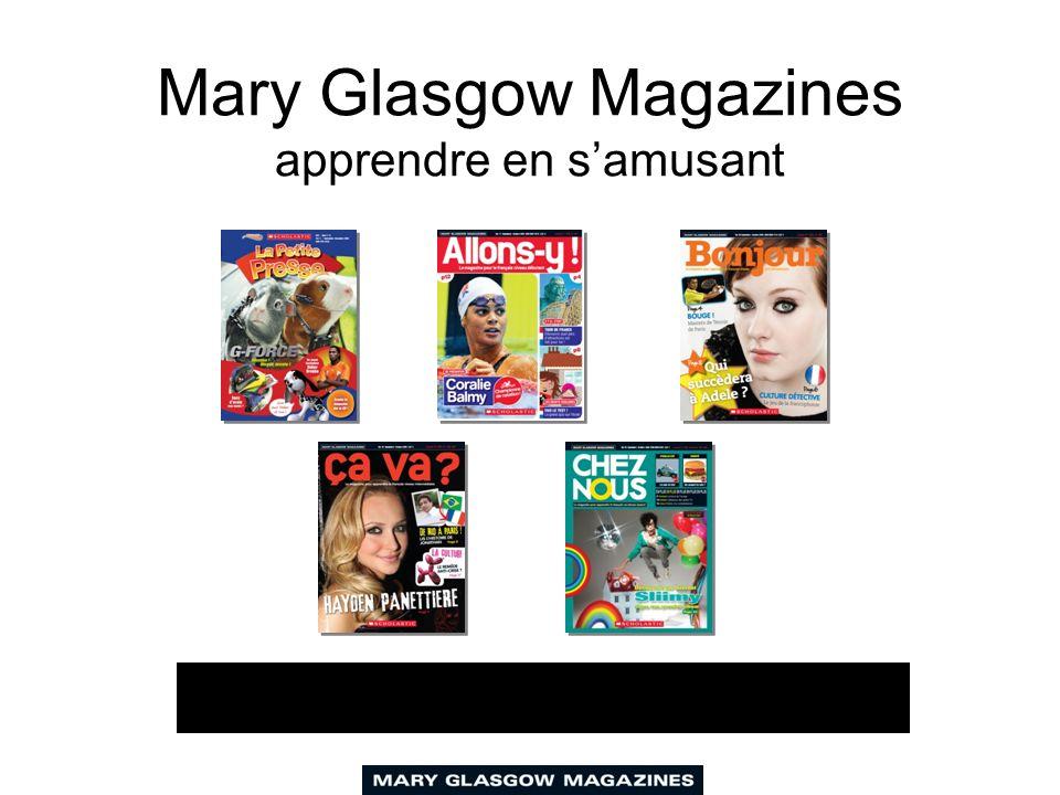 Nos magazines couvrent vos besoins pédagogiques Programme scolaire Tous les niveaux Toutes les compétences Leçons variées - différentes longueurs Des notes pour le professeur Des CD audio avec transcriptions