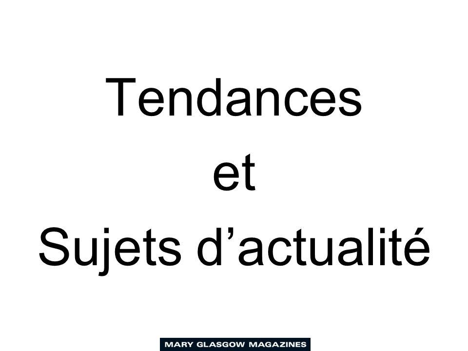 Tendances et Sujets dactualité