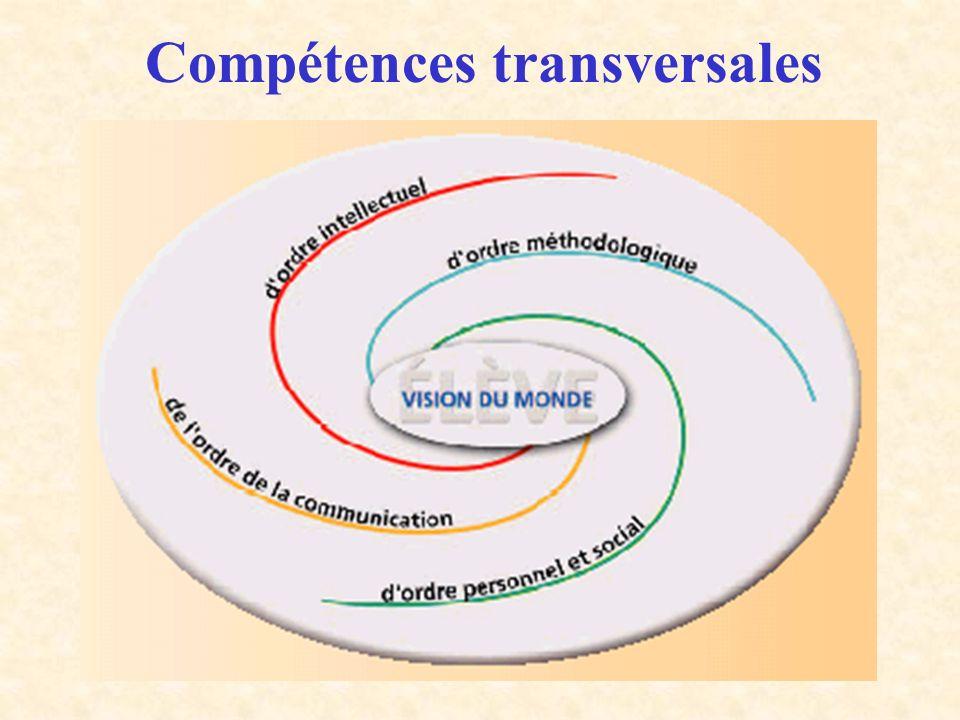 Compétences transversales