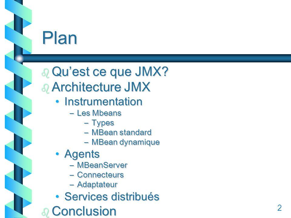 12 Plan b Quest ce que JMX.