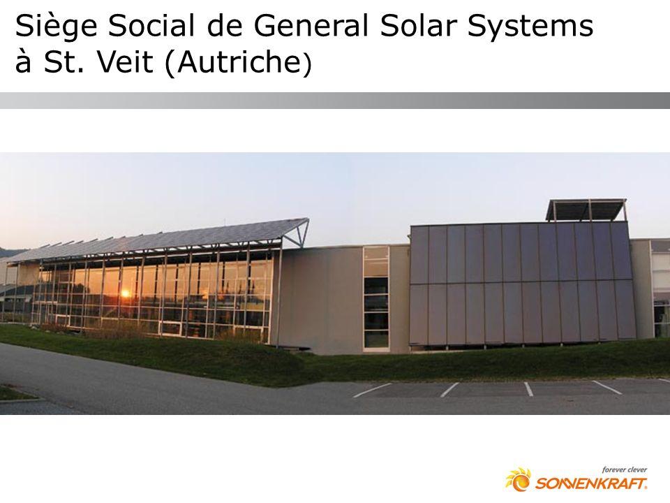 Siège Social de General Solar Systems à St. Veit (Autriche )