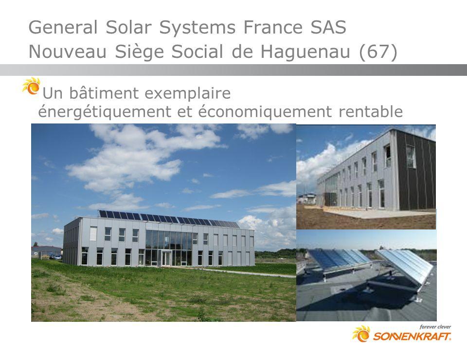 Un bâtiment exemplaire énergétiquement et économiquement rentable