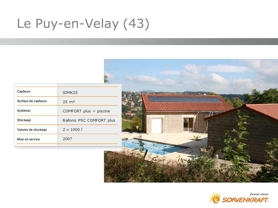 Le Puy-en-Velay (43) IDMK25 25 m² COMFORT plus + piscine Ballons PSC COMFORT plus 2 x 1000 l 2007