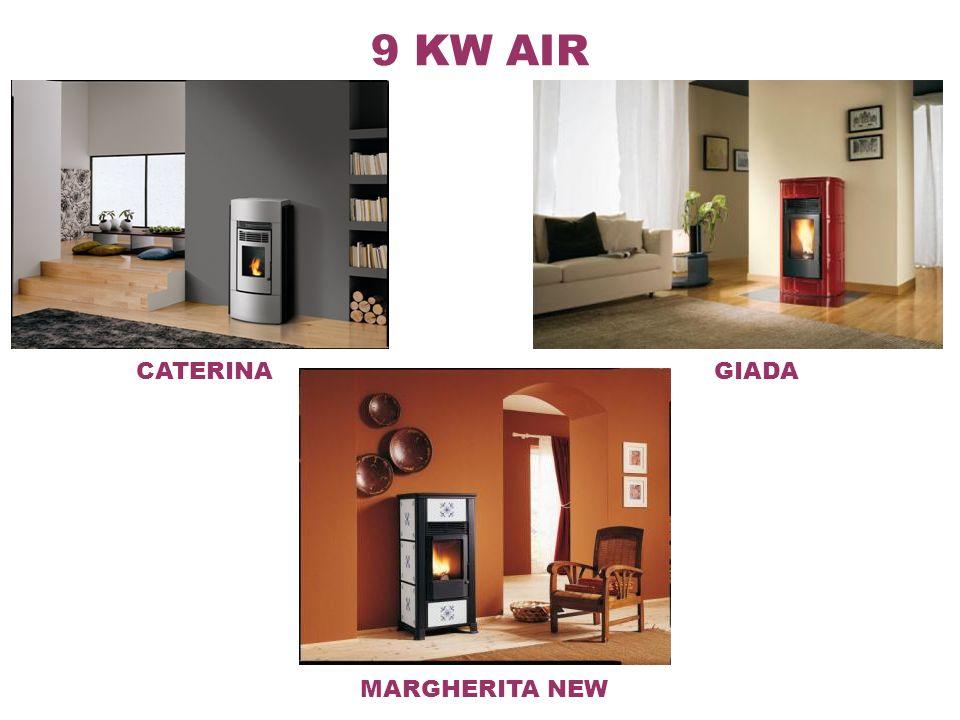 12 KW AIR ZAIRA ANGELICA Foyer Ecofire encastrable frontale avec réservoir du pellet augmenté.