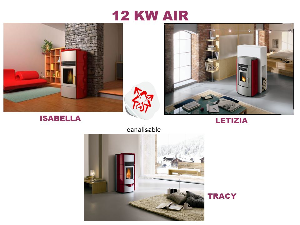 12 KW AIR ISABELLA TRACY LETIZIA canalisable
