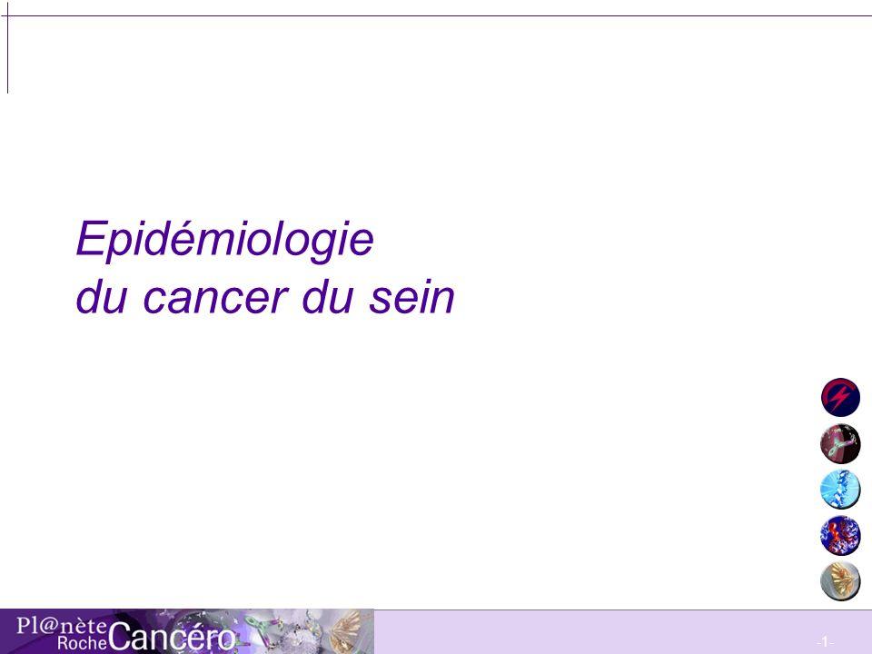 -2- Plan Introduction Objectifs Epidémiologie du cancer du sein en France Epidémiologie en Europe et aux Etats-Unis Peut-on expliquer les différences .
