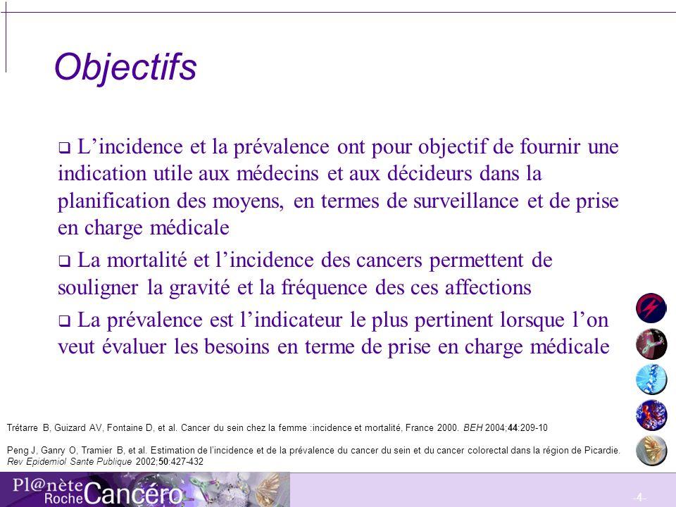 -5- Epidémiologie du cancer du sein en France