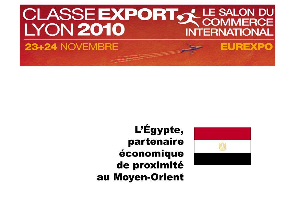 LÉgypte, partenaire économique de proximité au Moyen-Orient