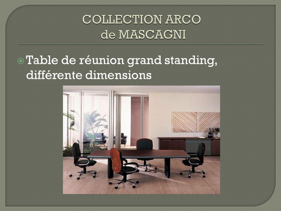 Table de réunion grand standing, différente dimensions