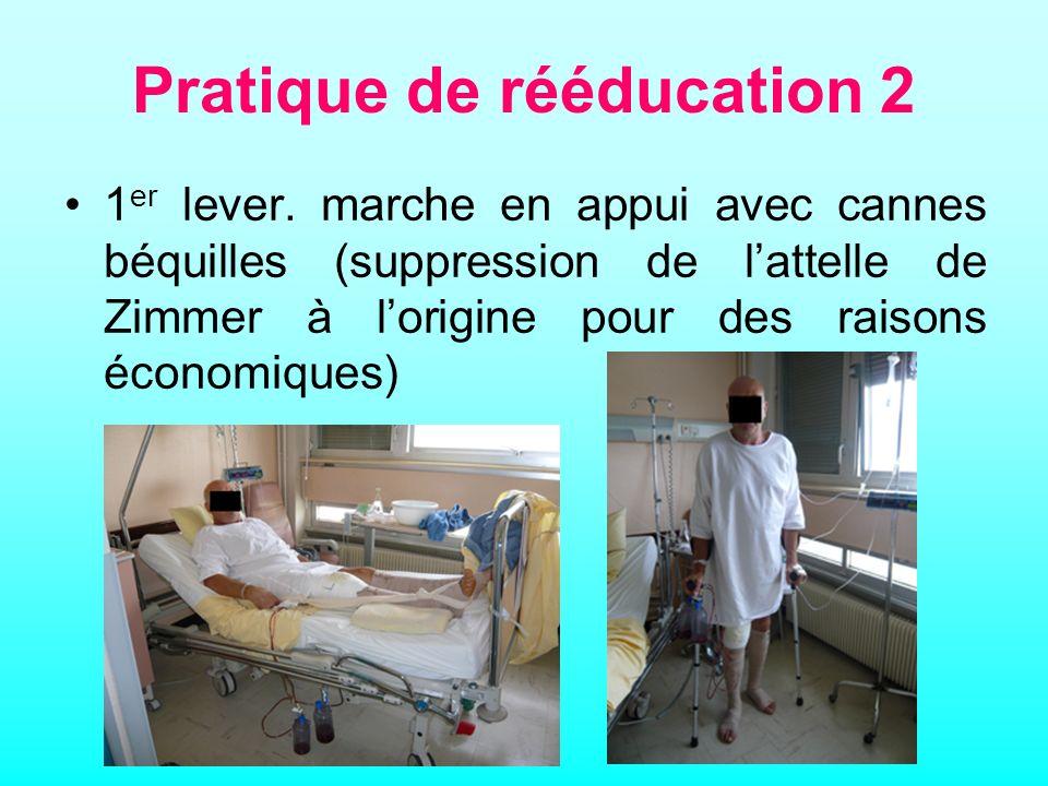 Pratique de rééducation 2 1 er lever.