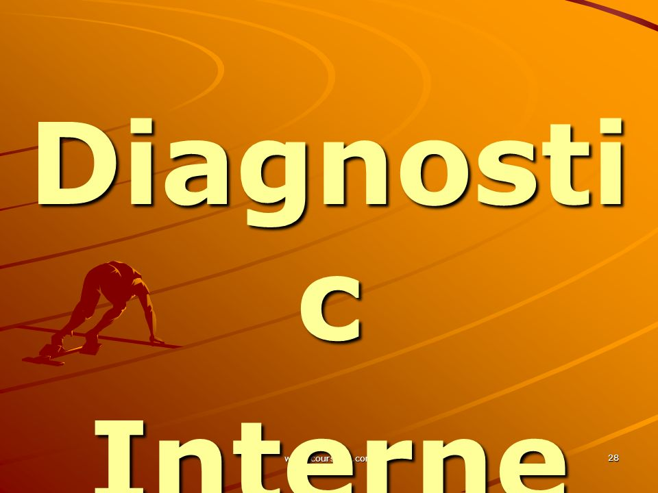 www.coursmix.com 28 Diagnosti c Diagnosti cInterne