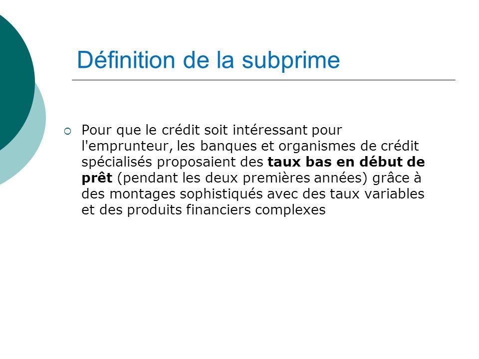 Pour que le crédit soit intéressant pour l'emprunteur, les banques et organismes de crédit spécialisés proposaient des taux bas en début de prêt (pend