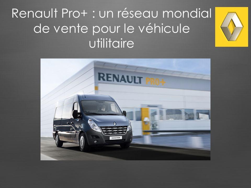 Renault Pro+ : un réseau mondial de vente pour le véhicule utilitaire