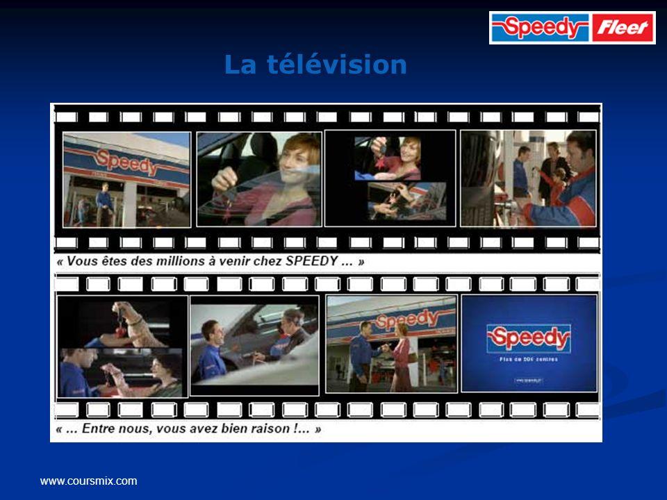 www.coursmix.com La télévision