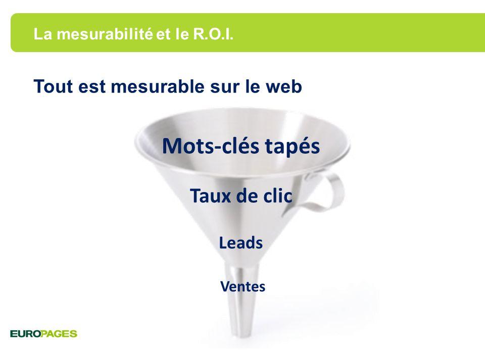 Nous pouvons le constater dans toutes les versions linguistiques Europages.it Europages.co.uk Source : Europages, Google Analytics, 2011