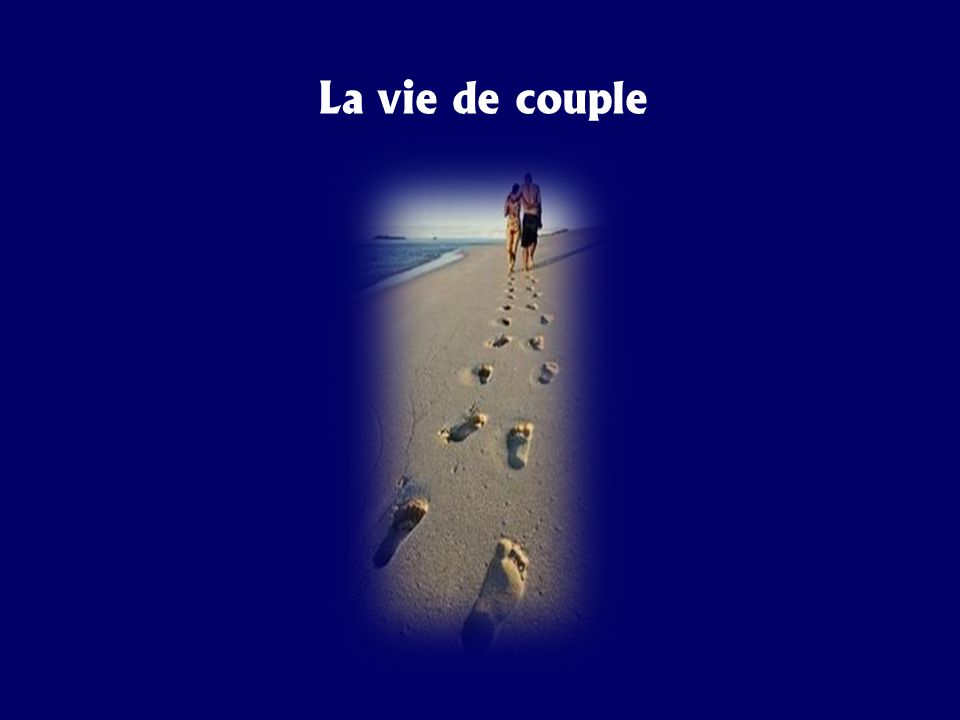 « La vie de couple » en six rencontres de groupe 1 re session: leçons 1 à 3 2 e session: leçons 4 et 5 3 e session: leçons 6 à 8 4 e session: leçons 9 à 11 5 e session: leçons 12-13 6 e session: prière et conclusion