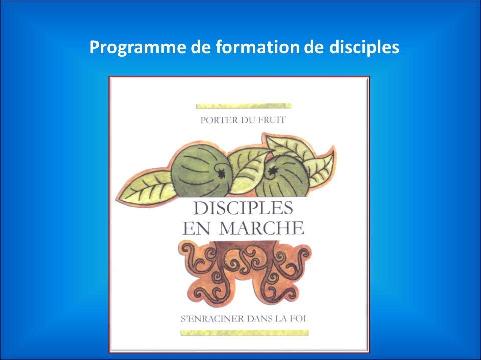 Programme de formation de disciples