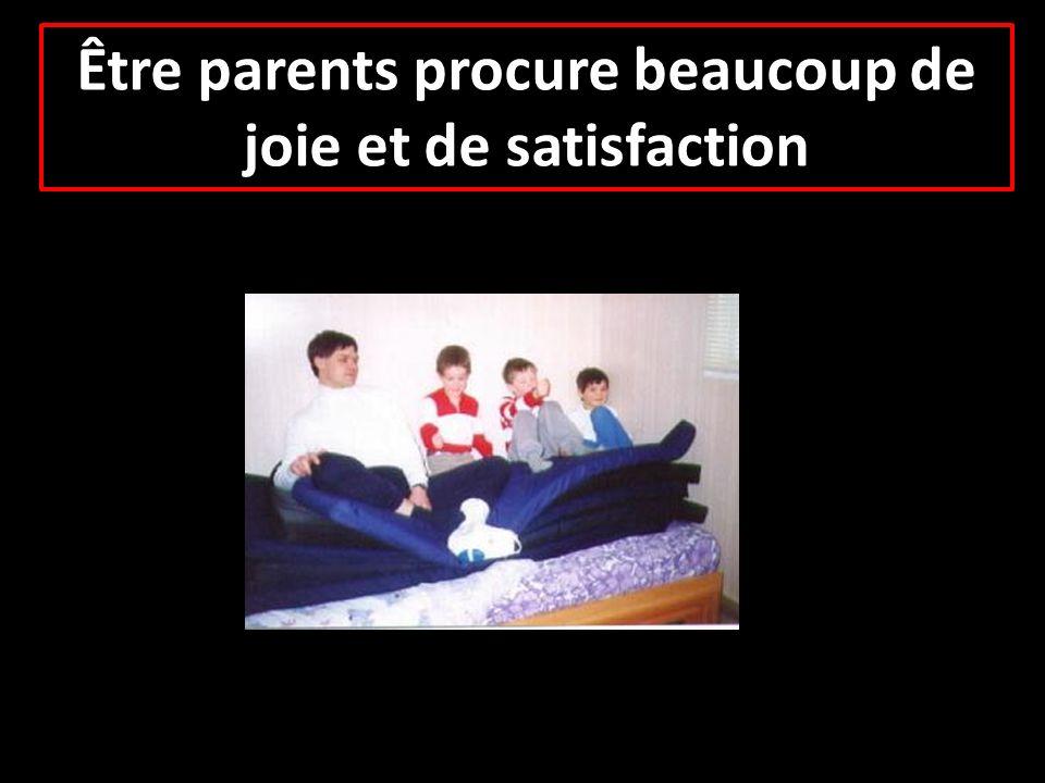 Notre bonheur dépend en grande partie de la condition de nos enfants …