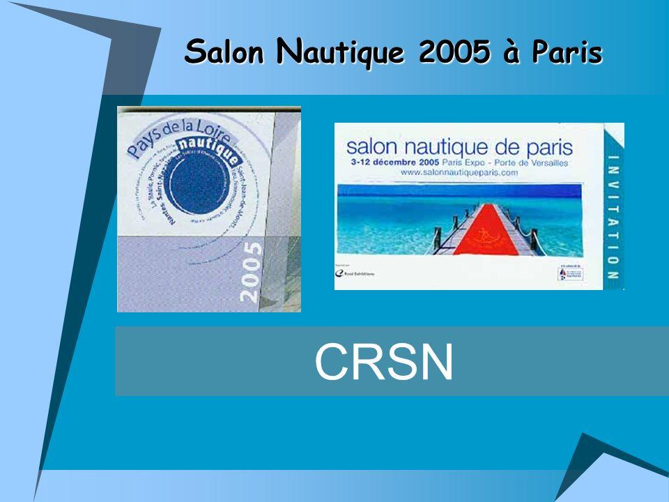 CRSN S alon N autique 2005 à Paris