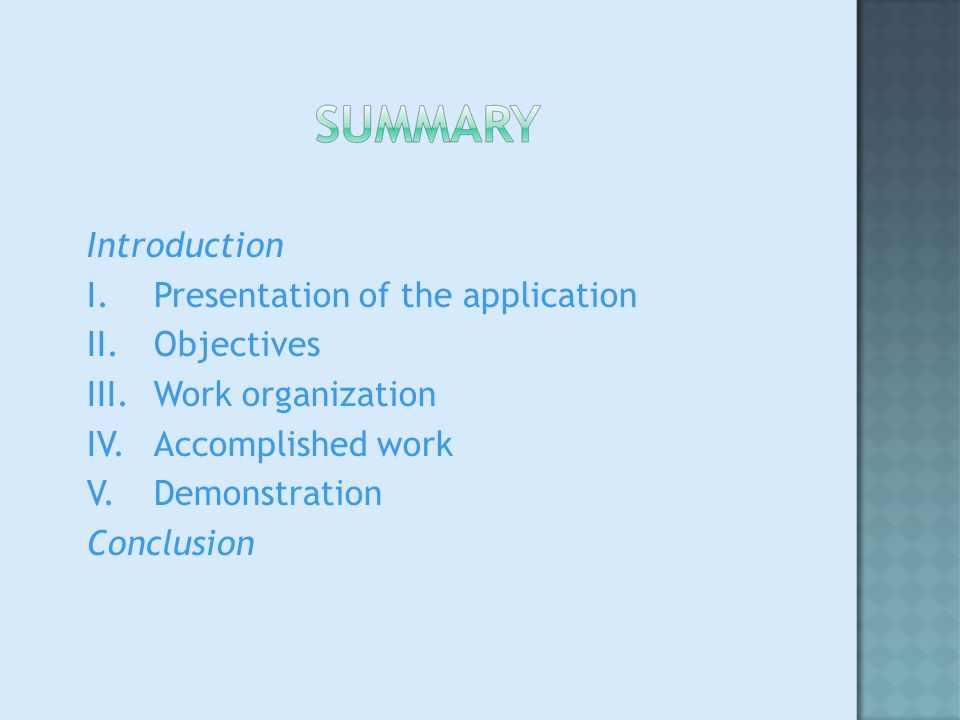 Part of the Victoria Project Semantic translation Better quality of translation Leff_Int : Development of a Web-Application Consulting and editing a huge database