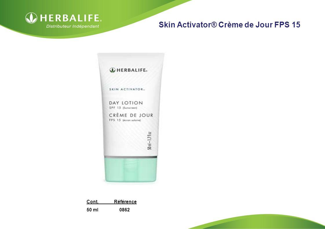 HOM, Septembre 2009 Skin Activator® Crème de Jour FPS 15 Cont.Référence 50 ml 0862