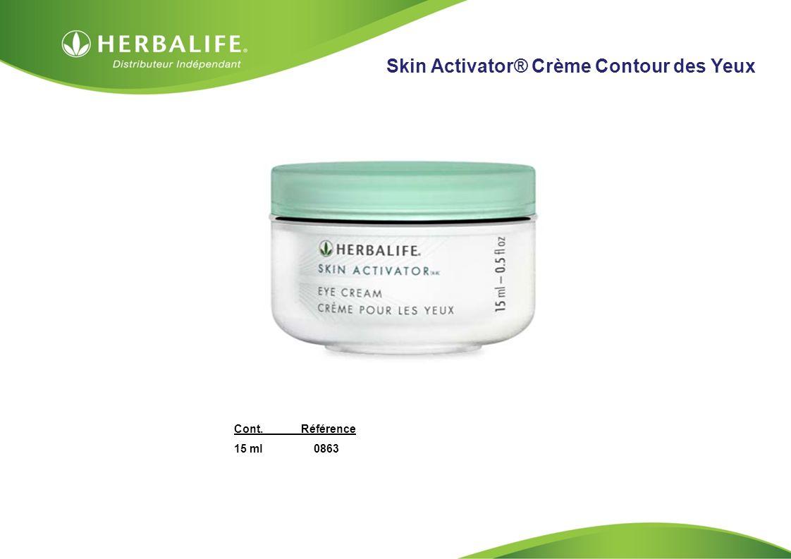 HOM, Septembre 2009 Skin Activator® Crème Contour des Yeux Cont.Référence 15 ml 0863