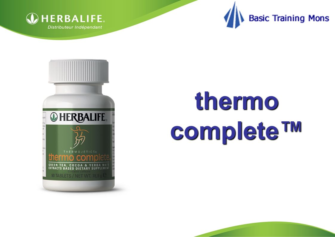HOM, Septembre 2009 thermo complete