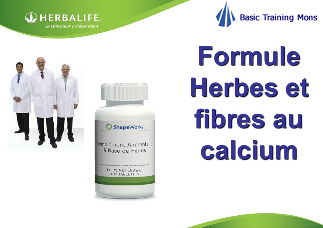 HOM, Septembre 2009 Formule Herbes et fibres au calcium