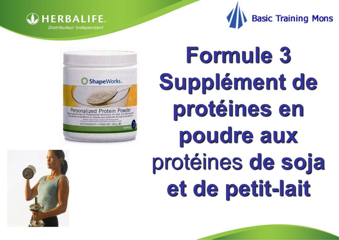 HOM, Septembre 2009 Formule 3 Supplément de protéines en poudre aux protéines de soja et de petit-lait