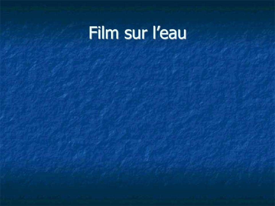 Film sur leau