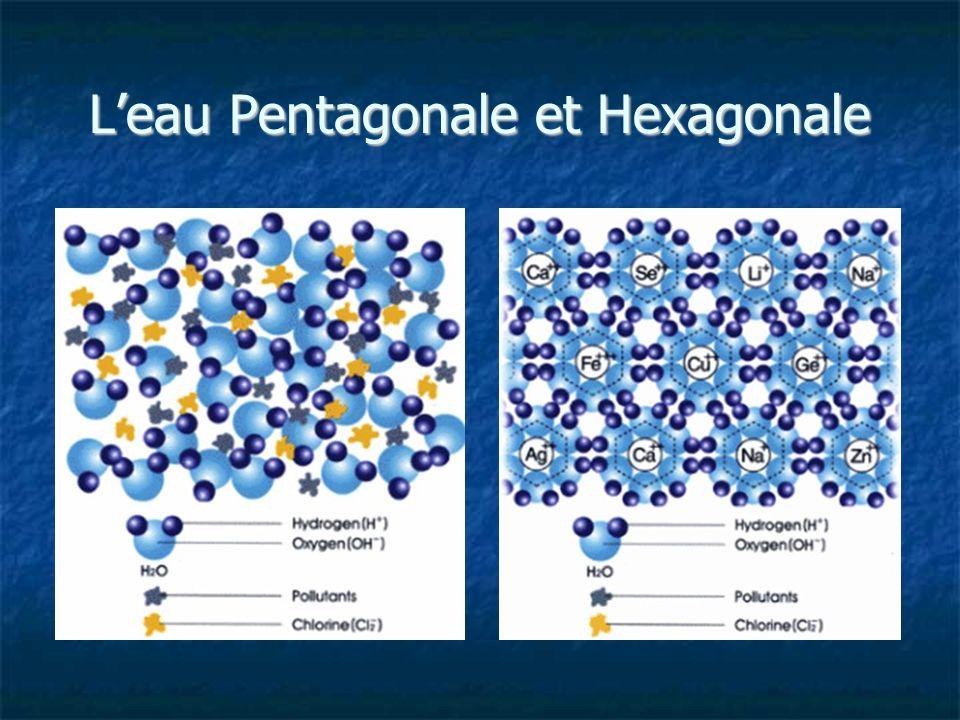 Leau Pentagonale et Hexagonale