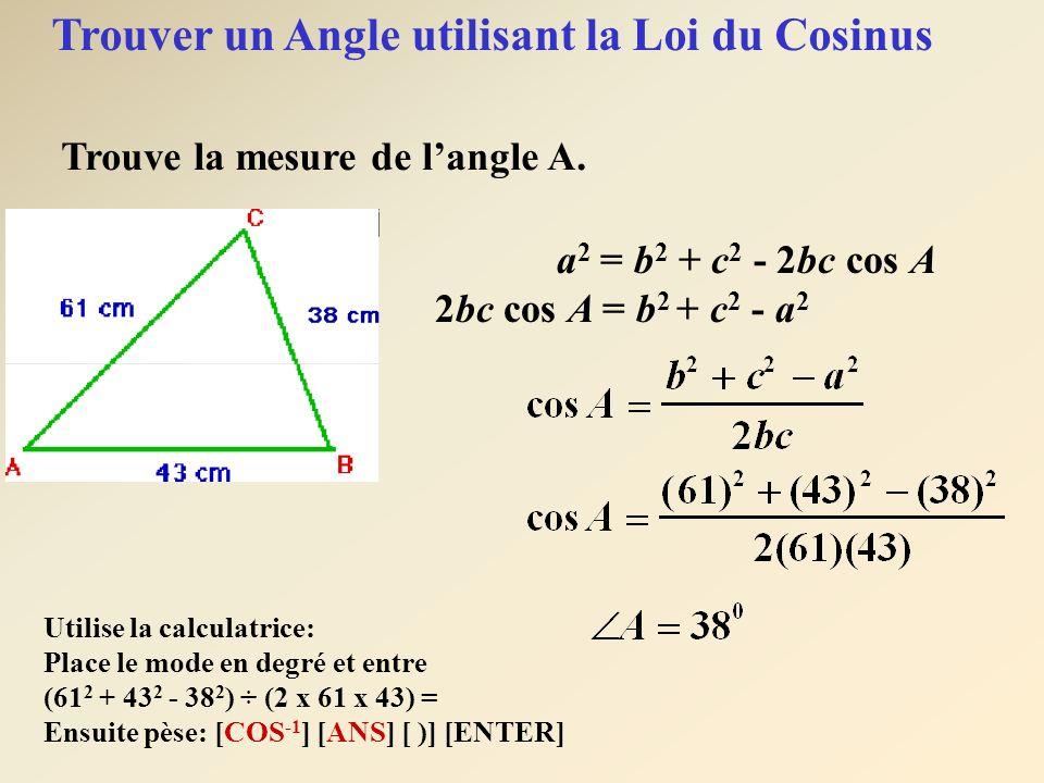 6 Trouve les trois angles de ce triangles.