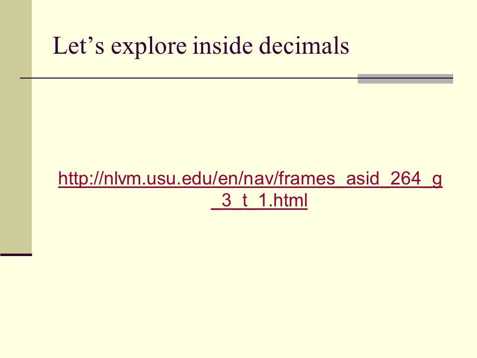 Lets explore inside decimals http://nlvm.usu.edu/en/nav/frames_asid_264_g _3_t_1.html