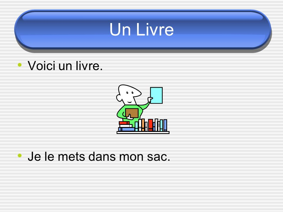 Les pronoms compléments dobject direct Le La L Les