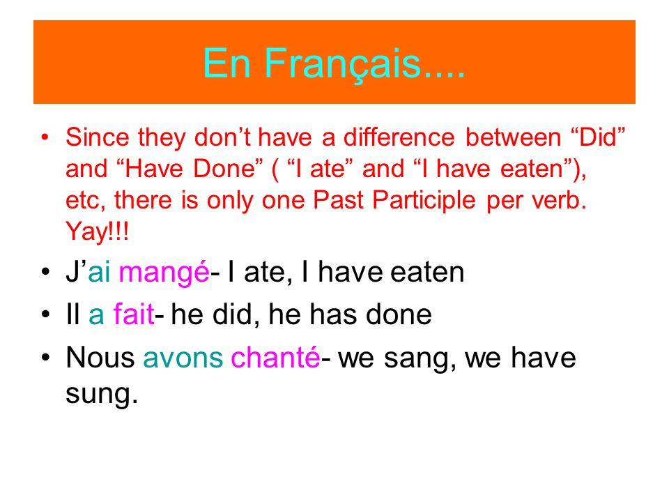 En Français....